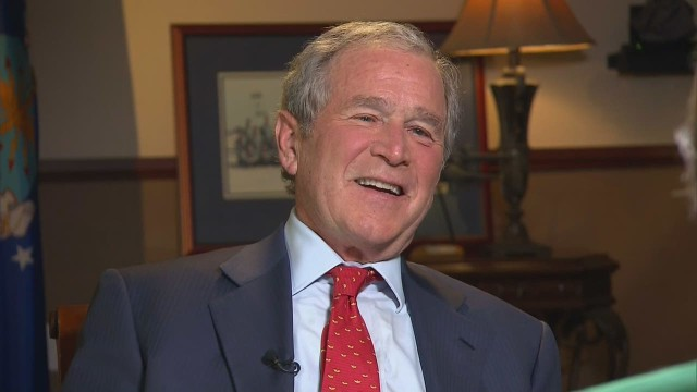 Candy Crowley's Exclusive Interview with George W. Bush