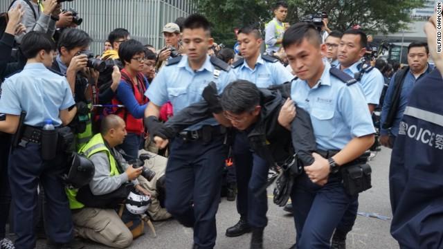 Photos: Hong Kong unrest