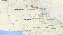 Map: Peshawar, Pakistan