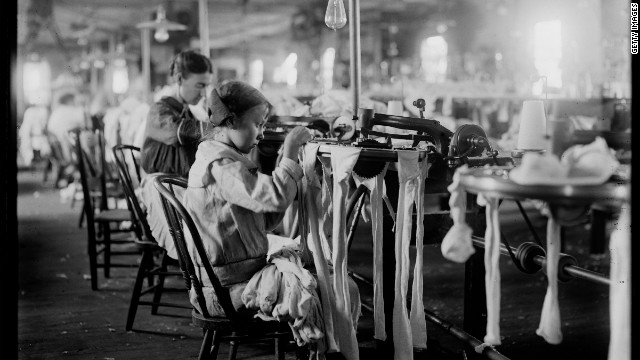 Textile Revolution Worker Factory Industrial