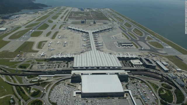 Hong Kong International Airport -- the world's largest air cargo hub -- saw more than 68 million passengers pass through its doors in 2015, an increase of 8.2%.