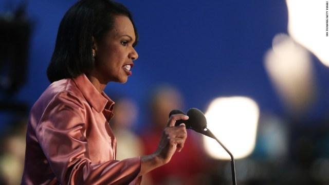 Former US Secretary of State Condoleezza Rice