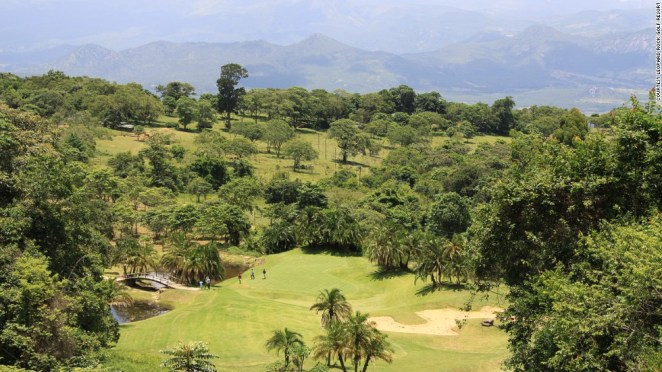 This course was carved out of dense woodland in the shadow of the eponymous Leopard Rock mountain. Many trees still line the fairways, making accuracy, as always, the key skill here.