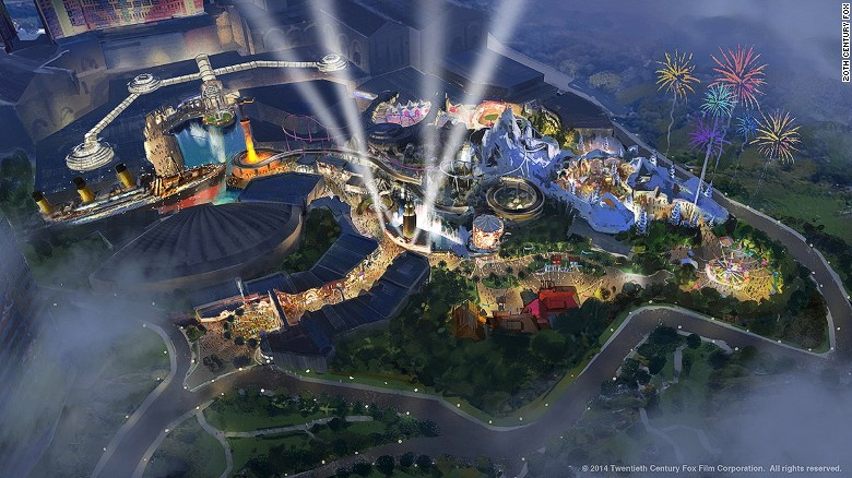 "The <a href=""http://edition.cnn.com/2013/12/17/travel/twentieth-century-fox-theme-park/"">world's first Twentieth Century Fox World</a> will open at Resorts World Genting next year, with about 25 rides and attractions based on Fox films such as ""Ice Age,"" ""Rio,"" ""Alien vs. Predator,"" ""Planet of the Apes"" and ""Night at the Museum."""