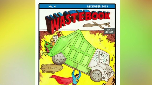 2013: Sen. Coburn reveals annual 'Wastebook'