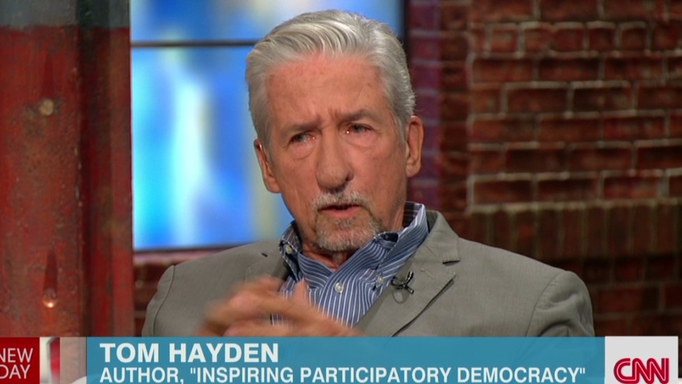 Image result for Tom Hayden, famed anti-Vietnam War activist, dies
