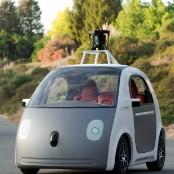 google driverless smart car
