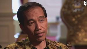 Indonesia's President discusses AirAsia plane crash