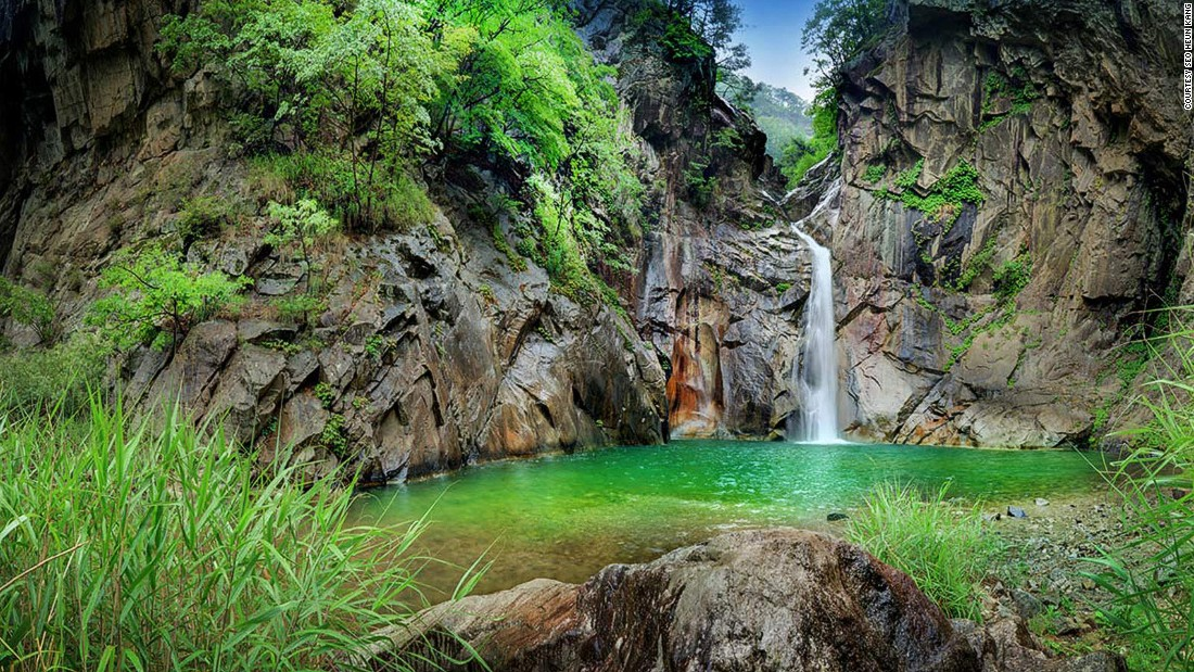 "​Legend has it that a dragon once flew out from this 20-meter-high waterfall in the Gangwon Province -- that's why the name of the nearby village Yonghwadong begins with the character for dragon. For look at Korea's wilder side, tune in to <a href=""http://www.cnn.com/shows/anthony-bourdain-parts-unknown"">""Anthony Bourdain: Parts Unknown,""</a> as he <a href=""http://www.cnn.com/2015/04/23/travel/parts-unknown-bourdain-korea-journal/index.html"">attempts to rewind a night of epic intoxication in Seoul</a> on Sunday, April 26, at 9 p.m. ET/PT."