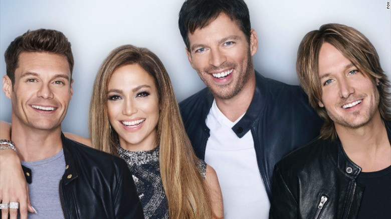 """""""American Idol"""" host Ryan Seacrest, left, and judges Jennifer Lopez, Harry Connick Jr. and Keith Urban will soon be out of a job. Fox has announced that season 15 will be the show's last. Let's catch up with some of the stars."""