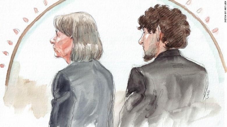Boston bomber Dzhokhar Tsarnaev apologized to his victims yesterday in court.