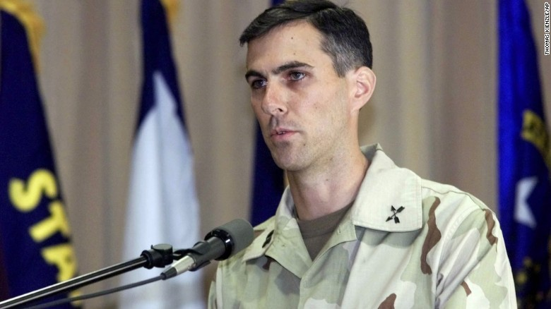 Lt. Col. Jason Amerine, pictured in 2001, played a key role in overthrowing the Taliban in Afghanistan.