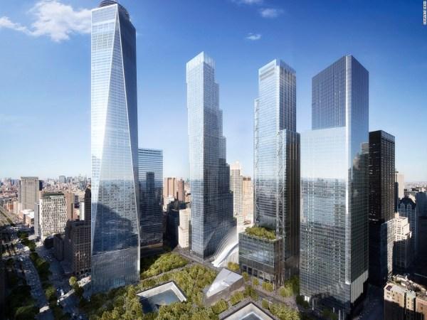 New World Trade Center tower unveiled - CNN.com