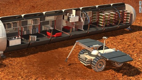 Long-term life support on Mars should be possible someday ...