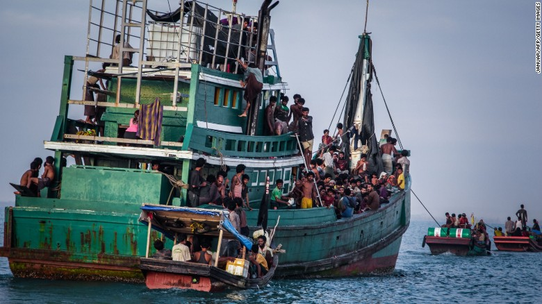 Migrants from across Asia risk their lives in overloaded boats trying to head for countries like Australia.