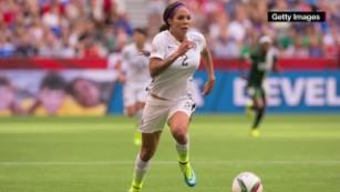 Fan share their love of U.S. women's soccer