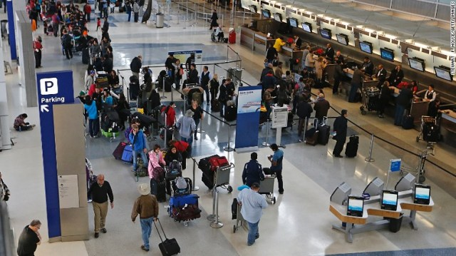 Dallas Fort-Worth International welcomed 64 million passengers in 2015 -- a 0.9% increase over the previous year, according to Airport Council International's preliminary 2015 passenger traffic results. The Texas facility dropped from ninth place to 10th.