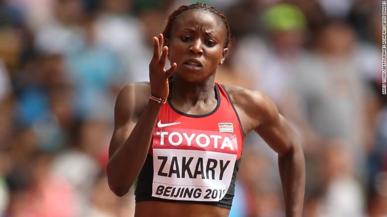 Joyce Zakary of Kenya