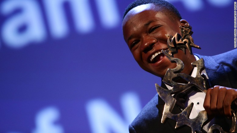 Abraham Attah won the Mastrello Mastroianni Award for Best Young Actor at the 72nd Venice Film Festival on September 12.