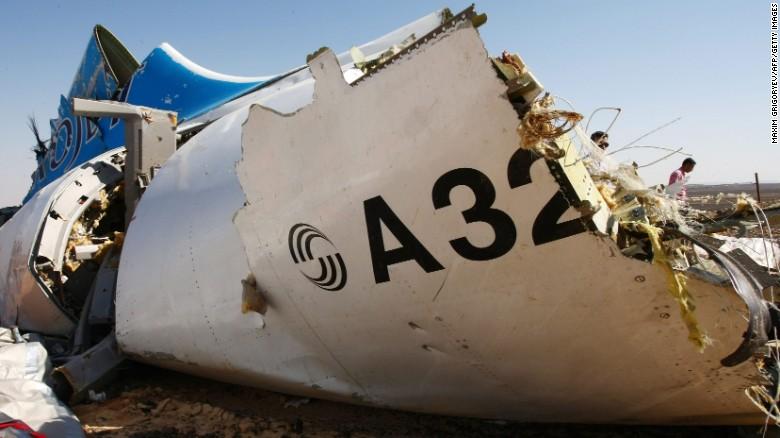 Russian media: Bomb brought down Metrojet flight
