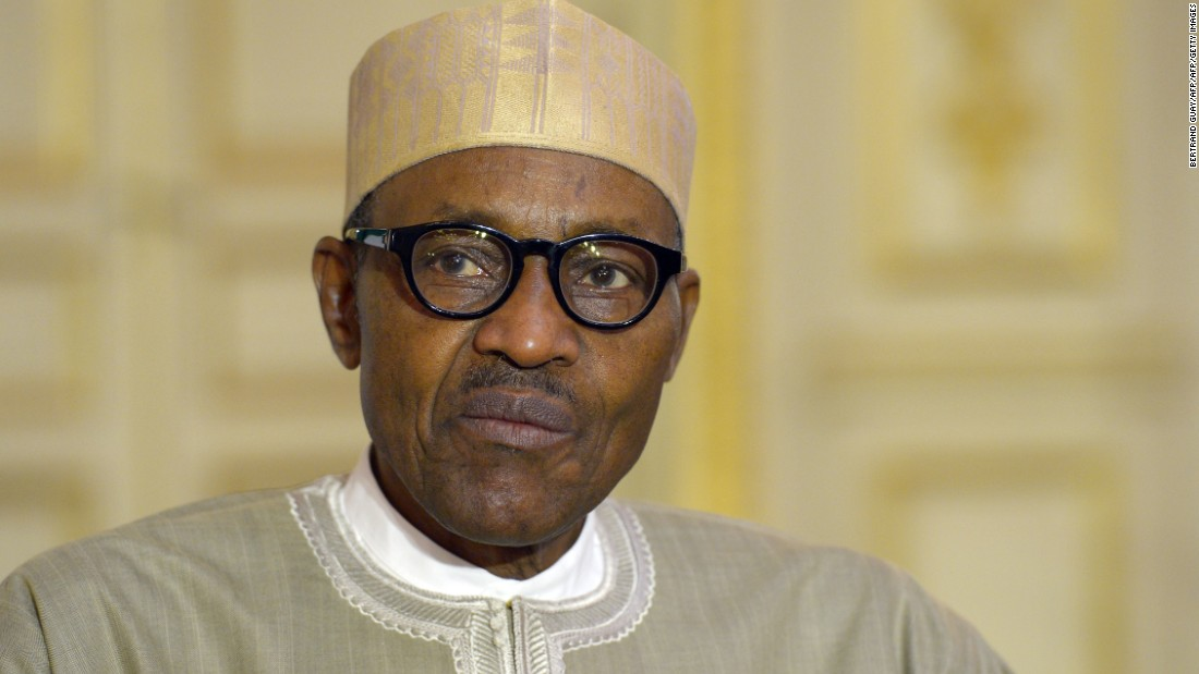 "A spokesman took to Twitter to dismiss President Buhari's comments as ""banter."""