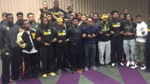 Missouri football players strike amid racism protest