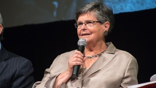 Ruth Dreifuss, former President of Switzerland.