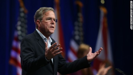 Jeb Bush: Presidents should lead, not lecture