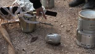 Glimpse of life inside Syrian war zone