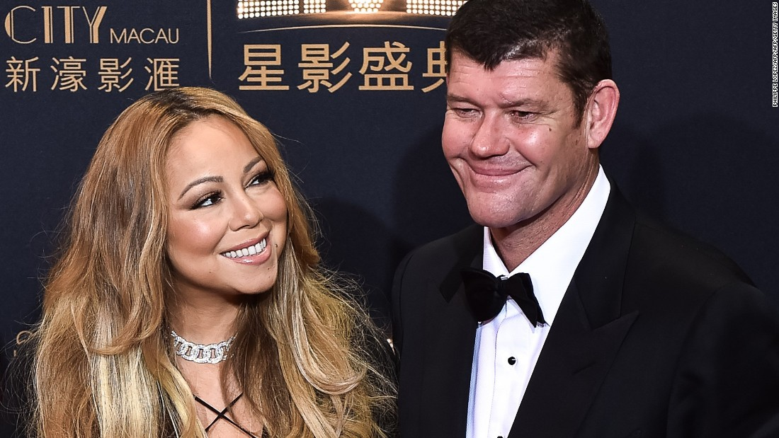 Image result for Mariah Carey james packer