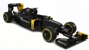 Back in black: Renault returns to F1