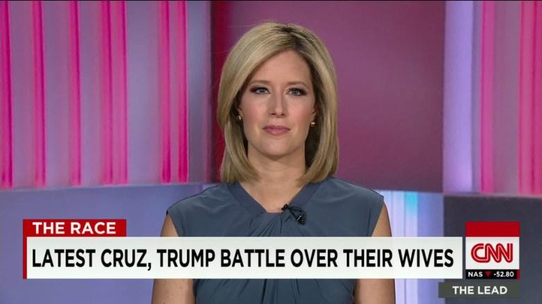Latest Cruz, Trump battle over their wives