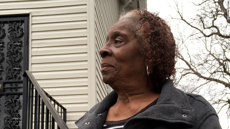 Betty Johnson mourns the loss of her great-grandson Andre.
