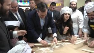 Ted Cruz rolls matzah and dances to 'Dayenu'