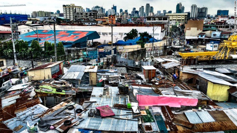 From skyscrapers to shantytowns, Manila's neighborhoods reflect the city's diversity. More than 12 million people call the capital of the Philippines home.