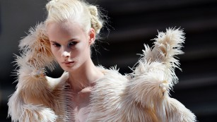 What you'll be wearing in 2050: Dragon skin and bones?