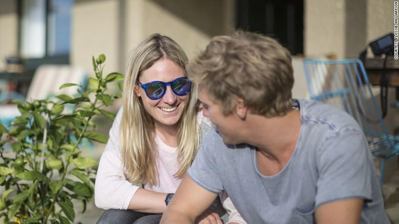 Flossie Williamson was jetting around the world to join her New Zealand boyfriend.