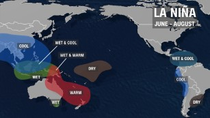 What would the effects of La Nina be globally?