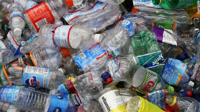 Old plastic bottles made of PET could soon be used to make a usable type of fuel similar to diesel.