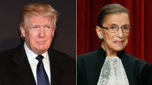 Trump to Ginsburg: Resign