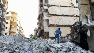 Aleppo doctors in peril