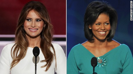 Image result for Michelle Obama jokes About Melania Trump Plagiarism