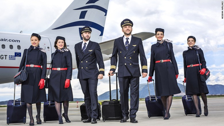"""Greece's largest carrier, Aegean was named best European regional airline by Skytrax in 2016. Maria Tax from Athens had this experience: """"The staff on the ground waits for you if you have checked in but haven't arrived yet."""""""