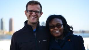 Enda co-founders Weldon Kennedy and Navalayo Osembo-Ombati