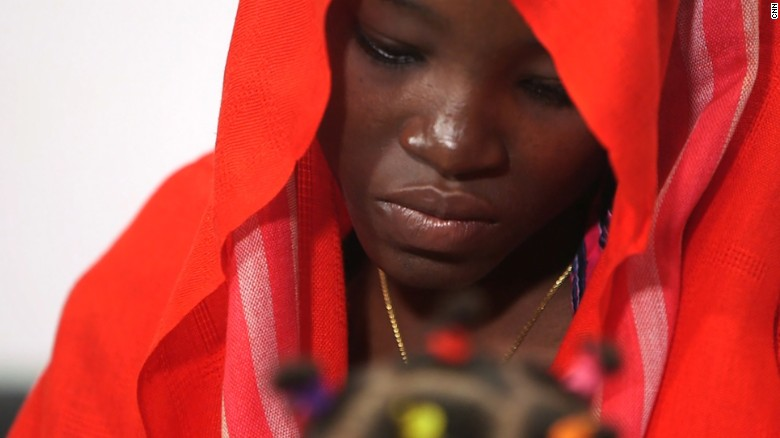 Chibok student Amina Ali Nkeki was kidnapped by Boko Haram and escaped after two years.