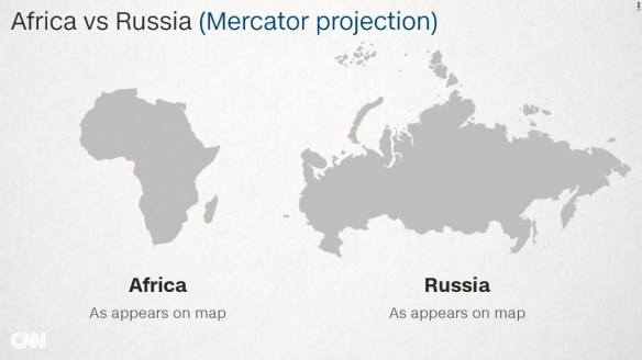 What\'s the real size of Africa? How Western states used maps to ...