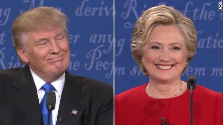 Image result for clinton trump debate
