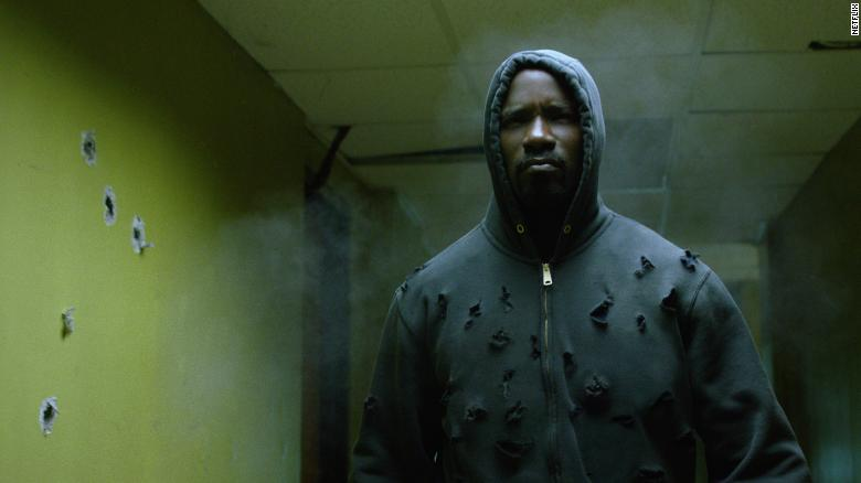 """Mike Colter stars as the title character in """"Luke Cage."""""""