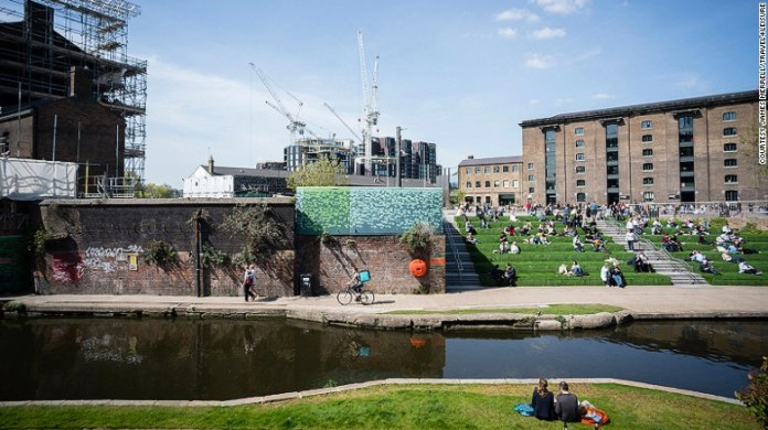 The sooty tangle of railways and derelict warehouses around King's Cross was once the UK capital's seediest quarter. Now, it's home to an ambitious urban renewal project -- and has become an unlikely model for the city's future.