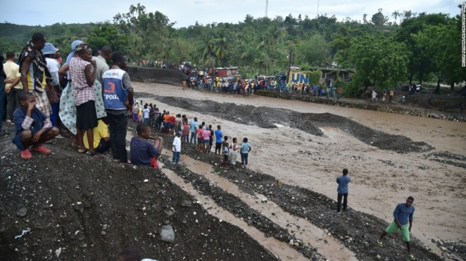 The bridge collapse left thousands stranded and cut supply lines.